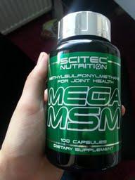 Salilta ostin Scitecin MSM:ää. Jos sais jotain helpotusta noihin nivelkipuihin..
