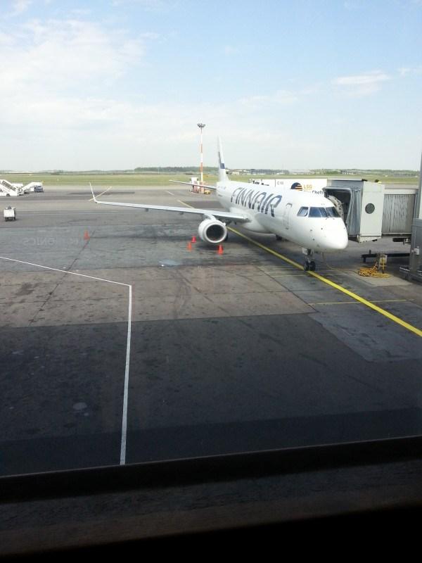 Lentokoneita ihmeteltiin moneen kertaan.