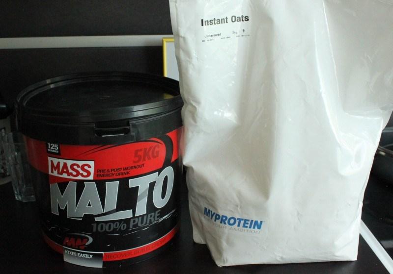 Malto & instant oats.