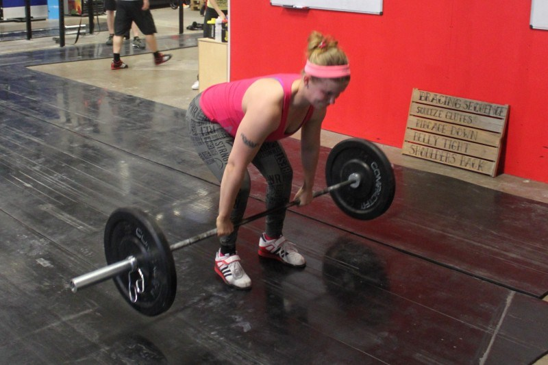 Power clean.