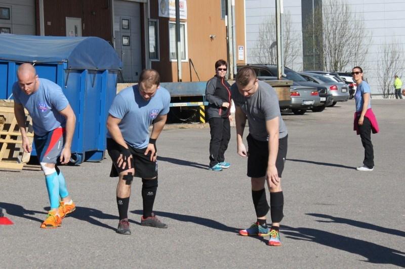 Henkan ja Tonin kanssa samassa heatissa myös Matti Rokka CF Tuusulasta.