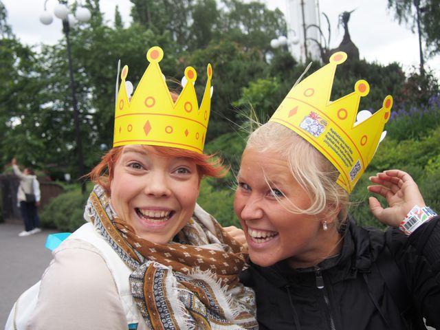 Aino&Marissa, molemmat mielettömän inspiroiva tyyppejä!