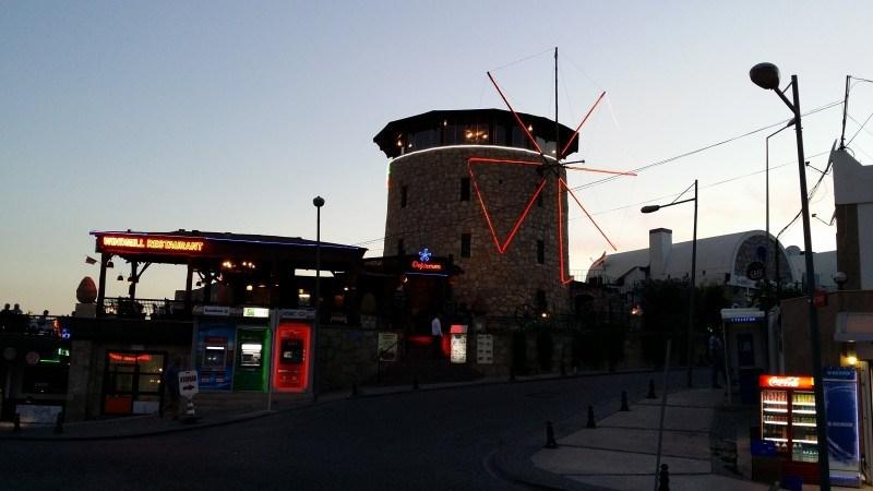 Ravintola Windmill.