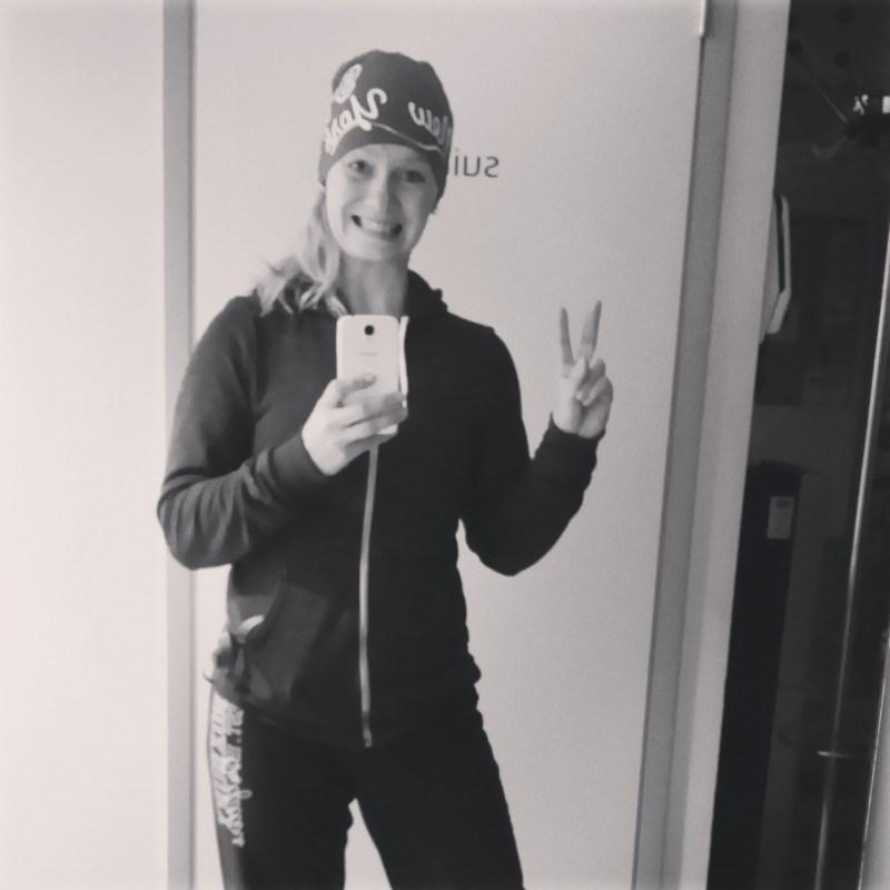 Eilen pirteänä töissä 7.20. Omg,  oli aikaa ottaa selfie!