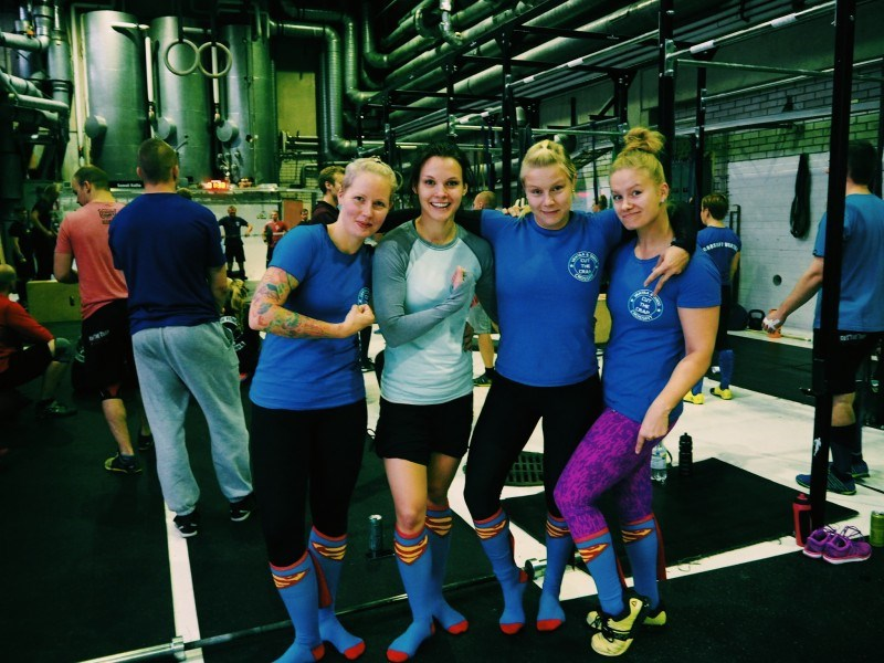 Mun joukkua eli Jenni, Reetta ja Venla :) Kiitti tytöt kivasta päivästä!
