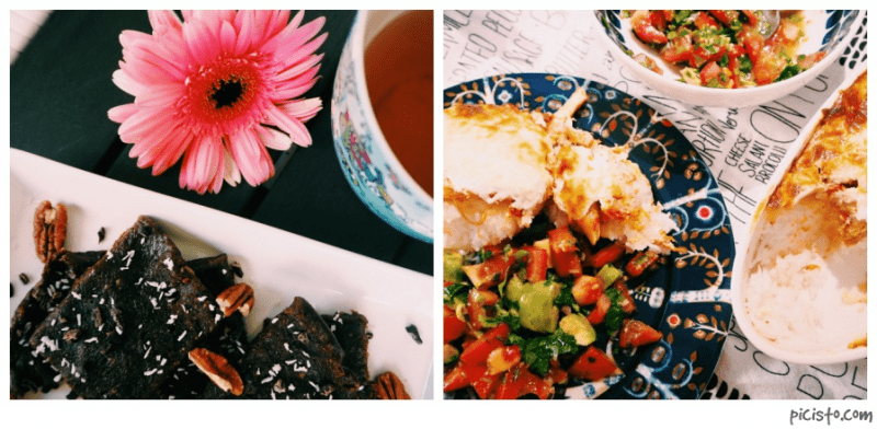 Herkulliset raakabrowniet // Nyhtökana & tomaattisalsa