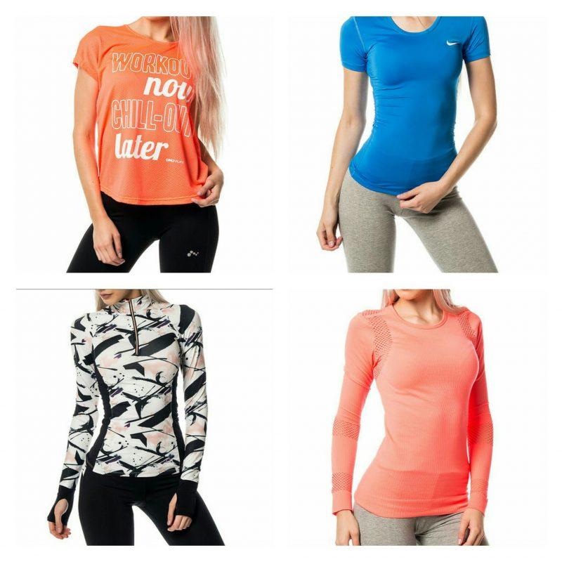 oranssi // sininen Nike // mustavalkoinen // oranssi pitkähihainen
