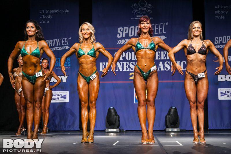 Tämä oli se mun sarja tulevaisuudessa. Kuva viime kevään Fitness classicista/Bodylehden galleria.