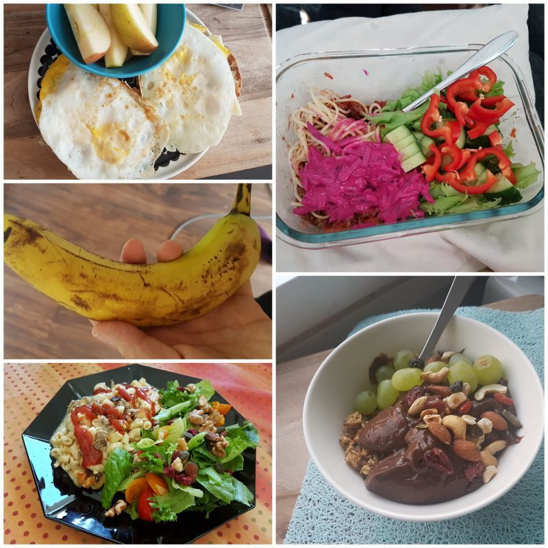 viikon 20 ruokapäiväkirja