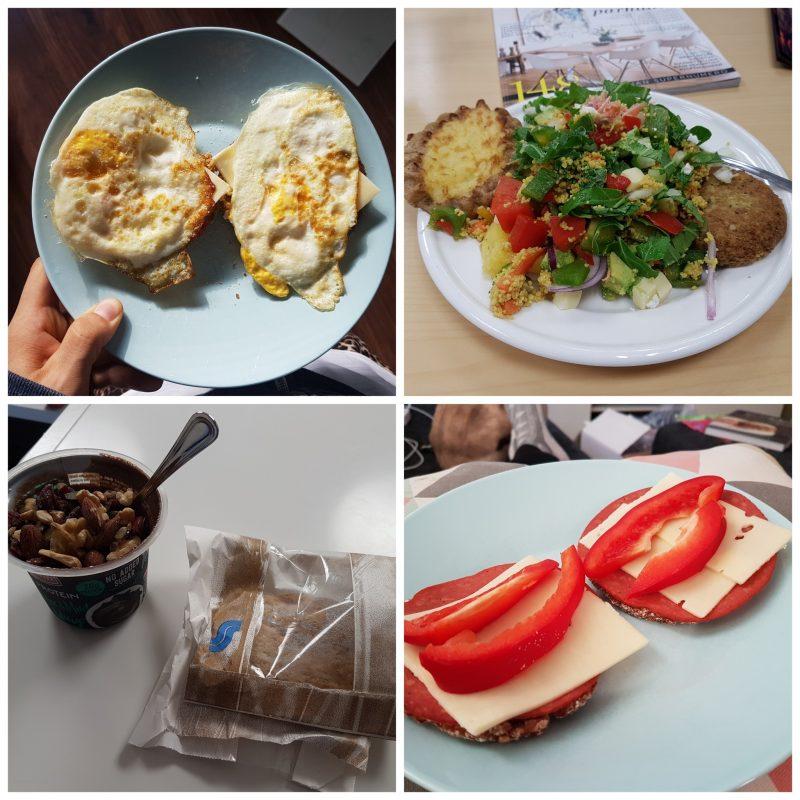 viikon 25 ruokapäiväkirja