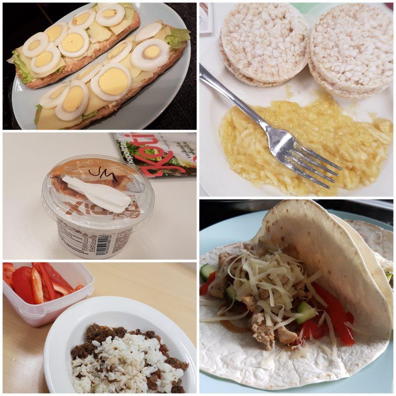 viikon 30 ruokapäiväkirja