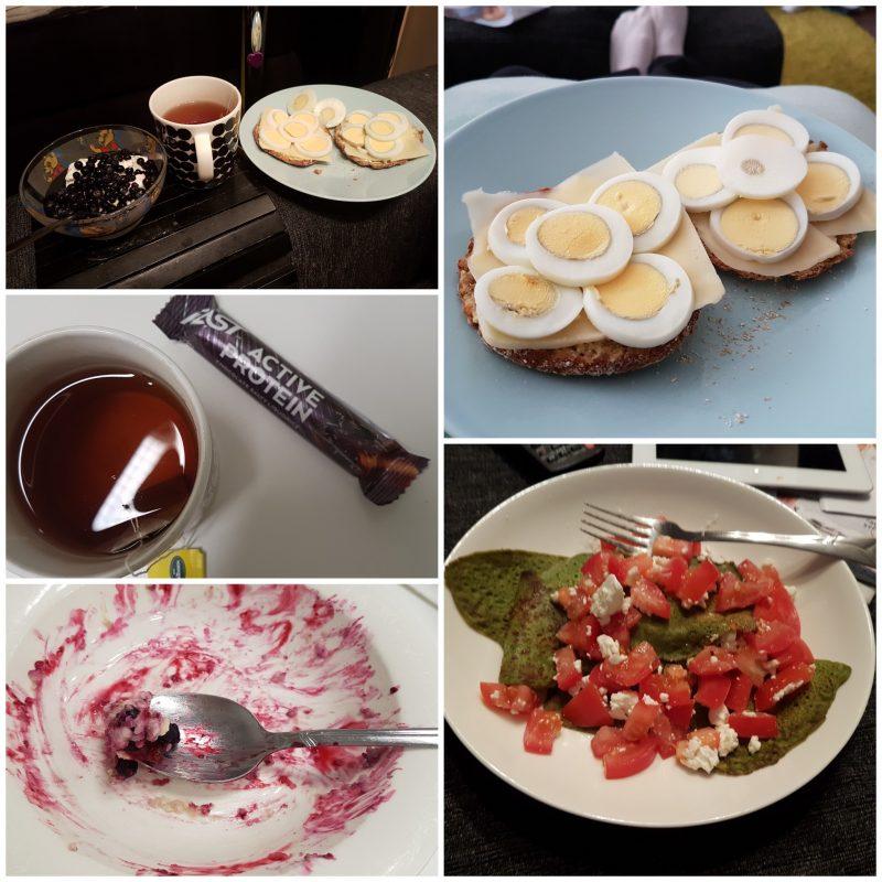 viikon 32 ruokapäiväkirja