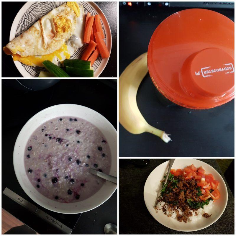 viikon 40 ruokapäiväkirja