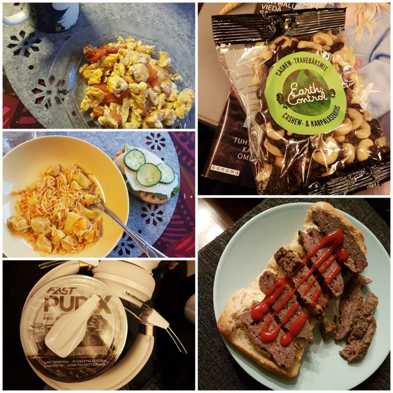 viikon 48 ruokapäiväkirja