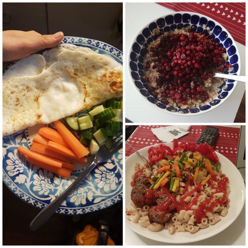 viikon 51 ruokapäiväkirja