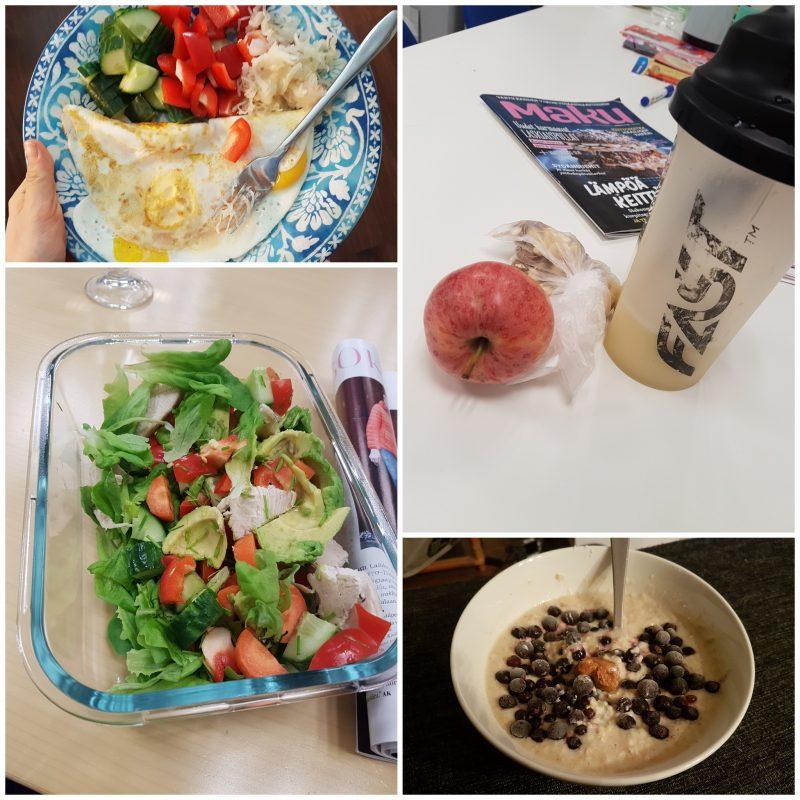 viikon 3 ruokapäiväkirja