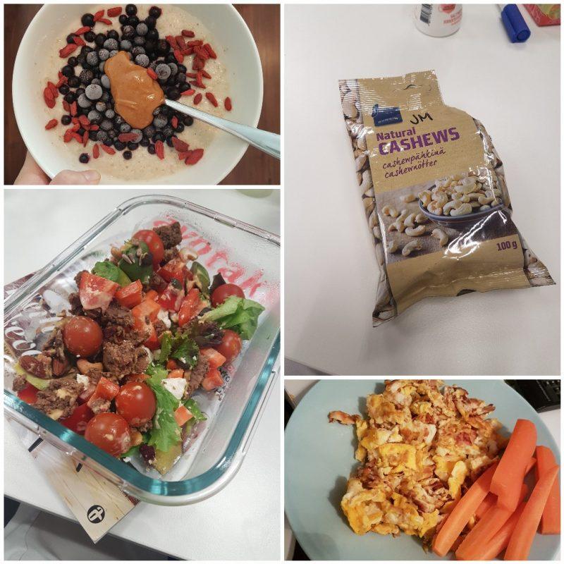 viikon 13 ruokapäiväkirja