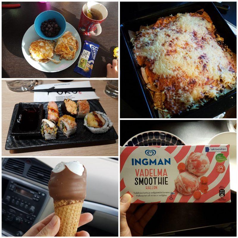 viikon 14 ruokapäiväkirja