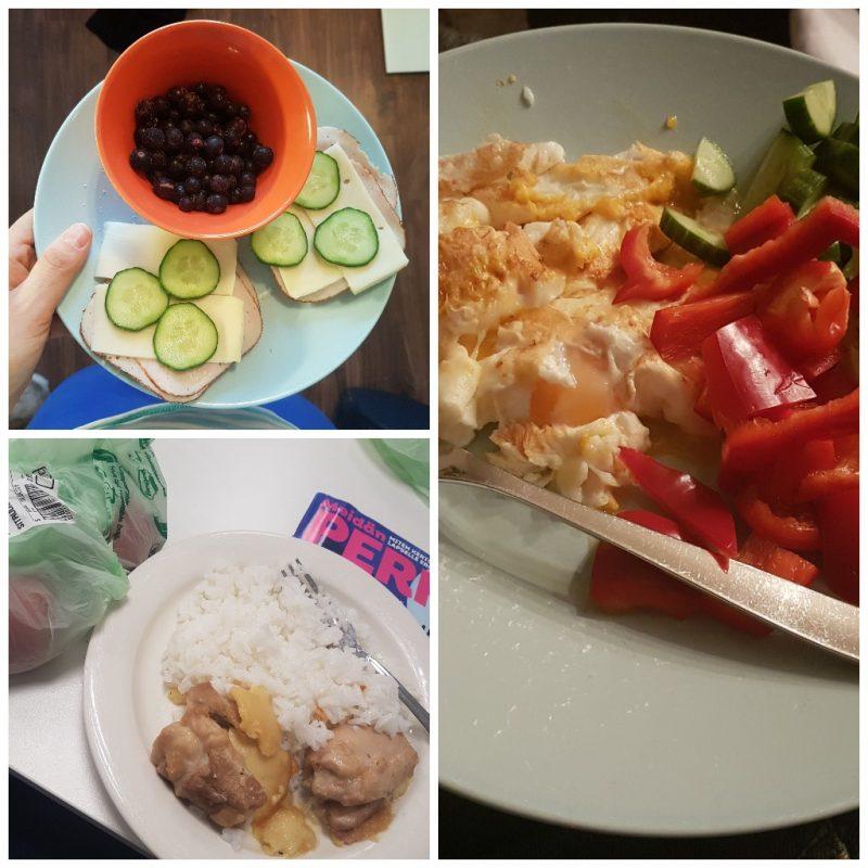 viikon 15 ruokapäiväkirja