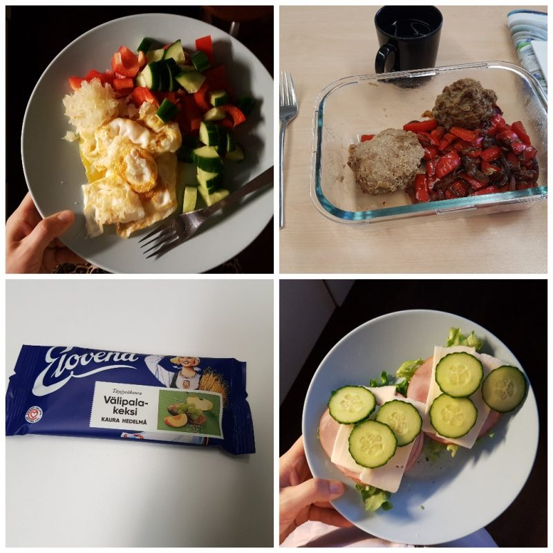 viikon 16 ruokapäiväkirja