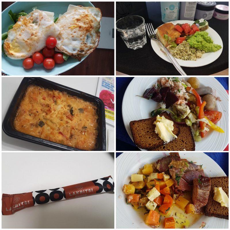 viikon 21 ruokapäiväkirja