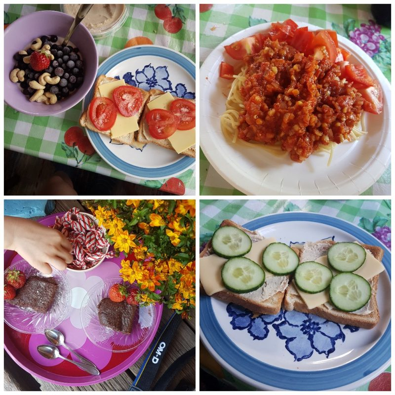 viikon 27 ruokapäiväkirja