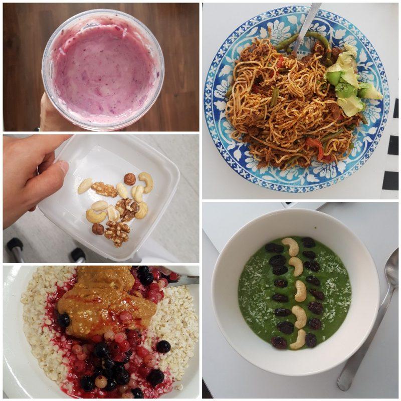 viikon 29 ruokapäiväkirja