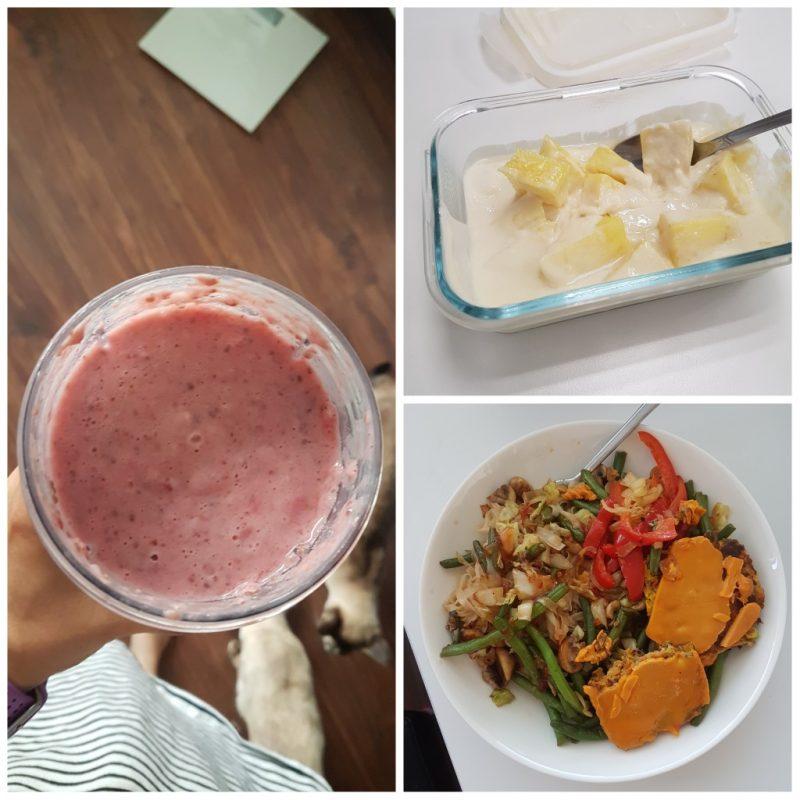 Viikon 31 ruokapäiväkirja