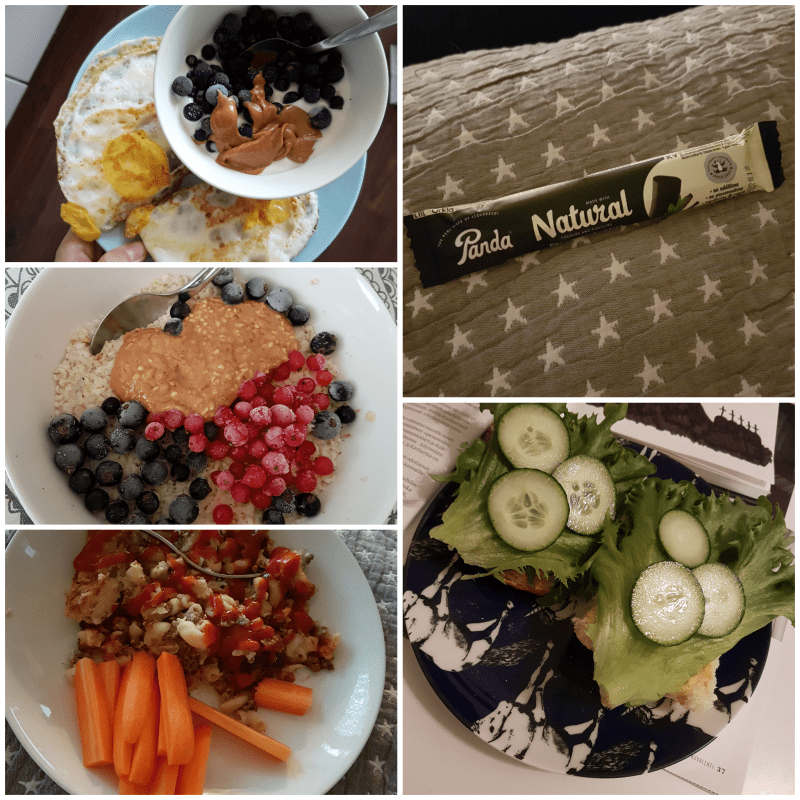 viikon 42 ruokapäiväkirja