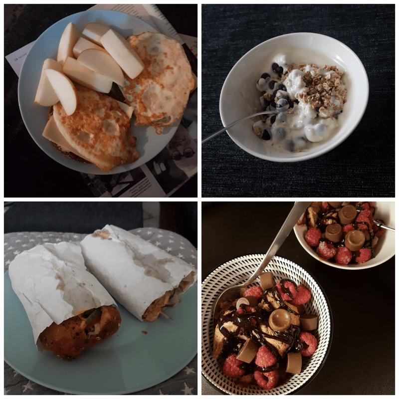 Viikon 43 ruokapäiväkirja