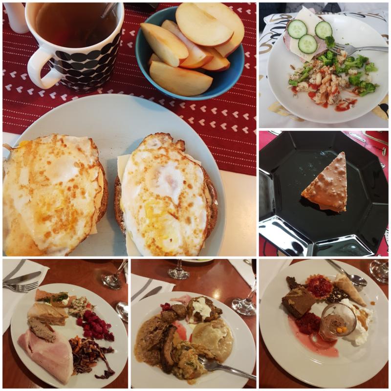 Viikon 49 ruokapäiväkirja