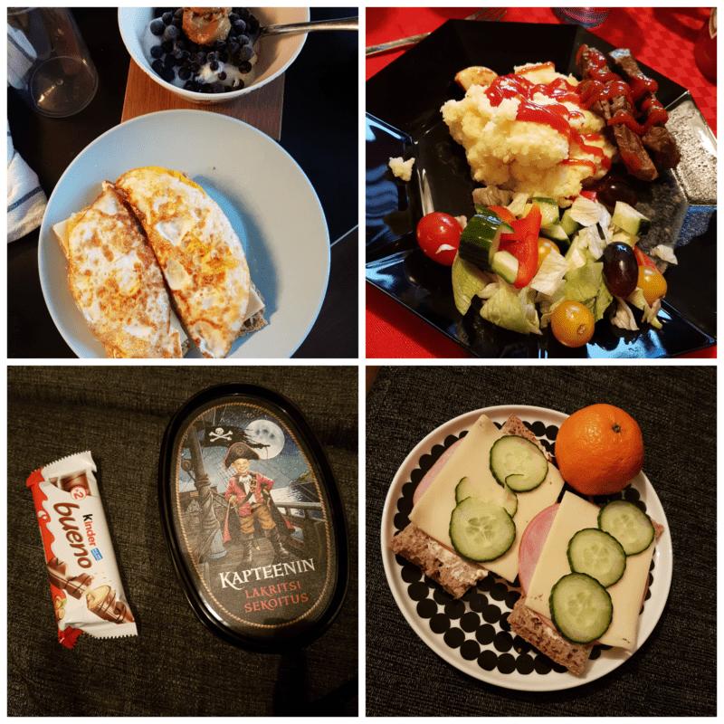 viikon 52 ruokapäiväkirja