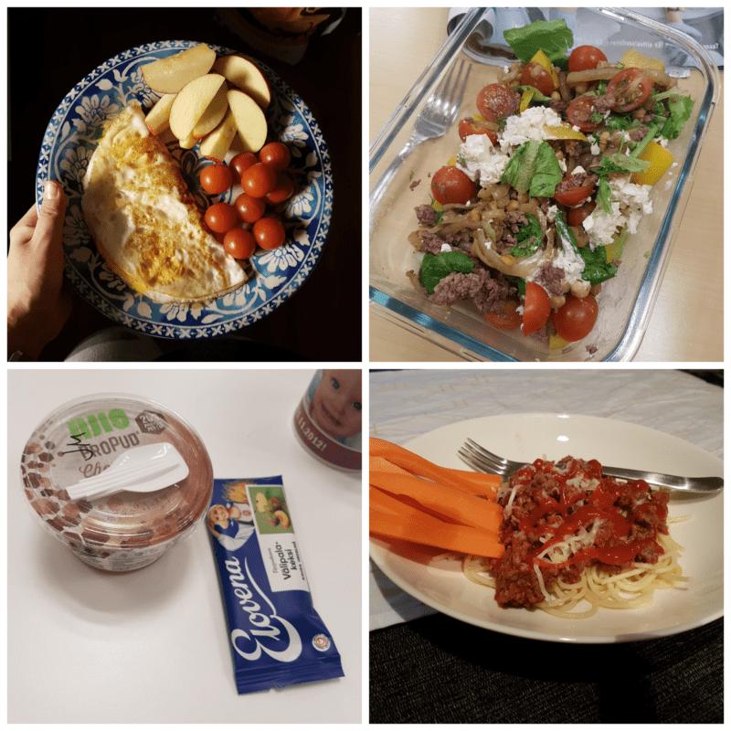 viikon 1 ruokapäiväkirja