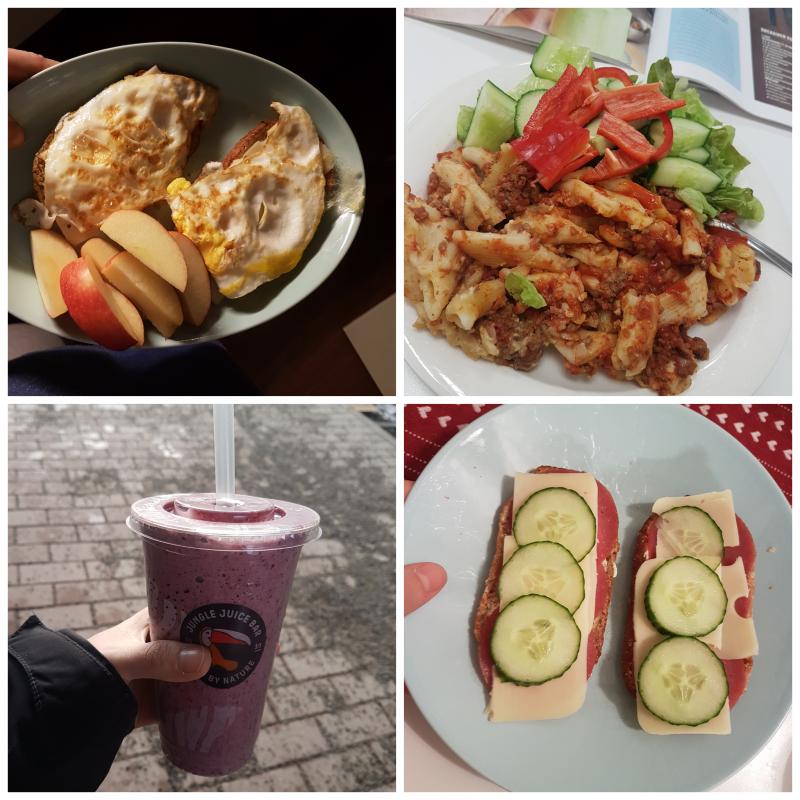 viikon 7 ruokapäiväkirja