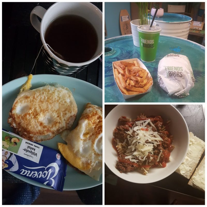 viikon 11 ruokapäiväkirja