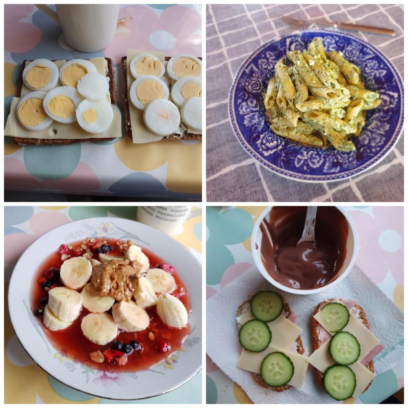 Viikon 18 ruokapäiväkirja