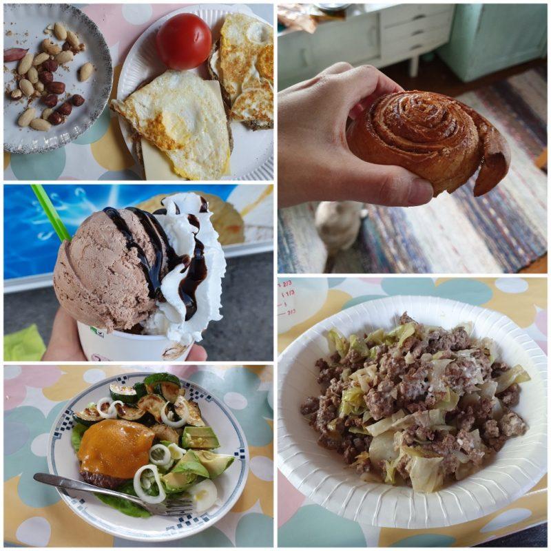 vähähiilihydraattinen ruokapäiväkirja #1