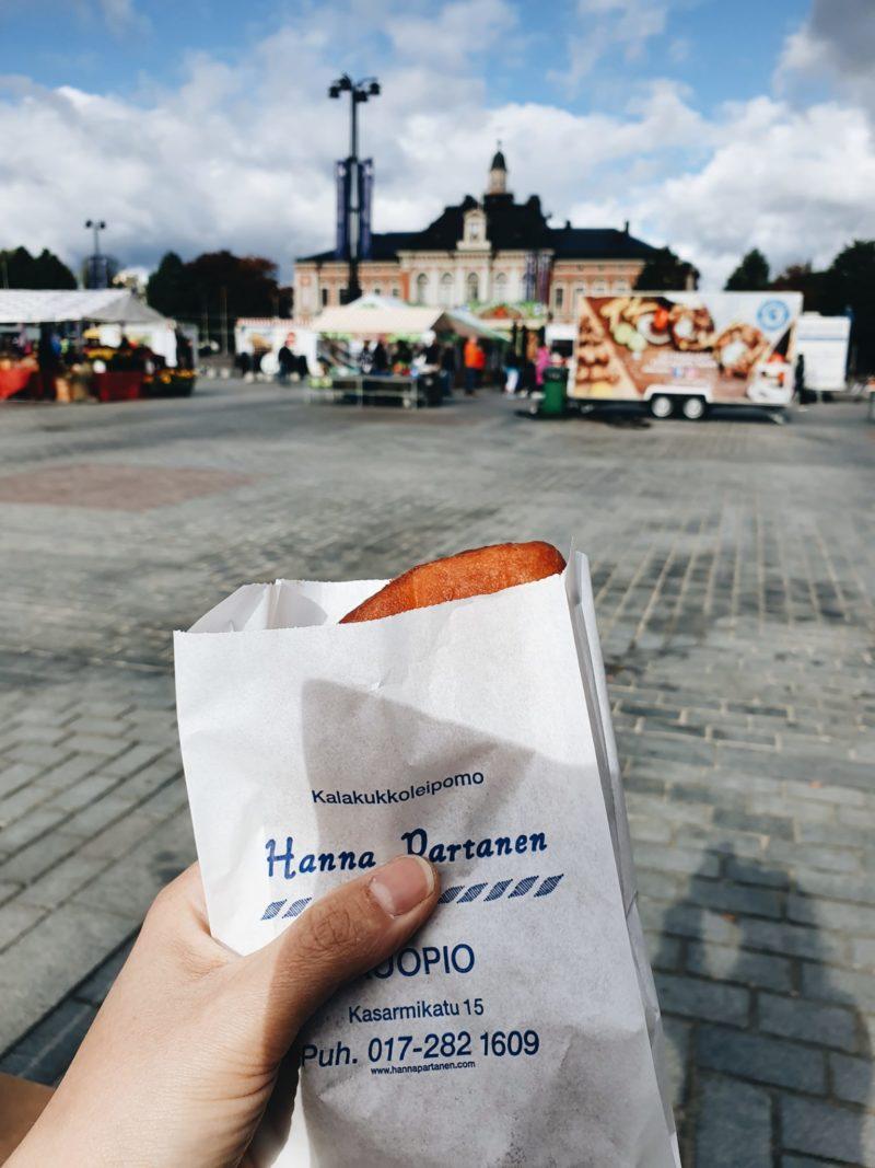 pikareissu Kuopioon